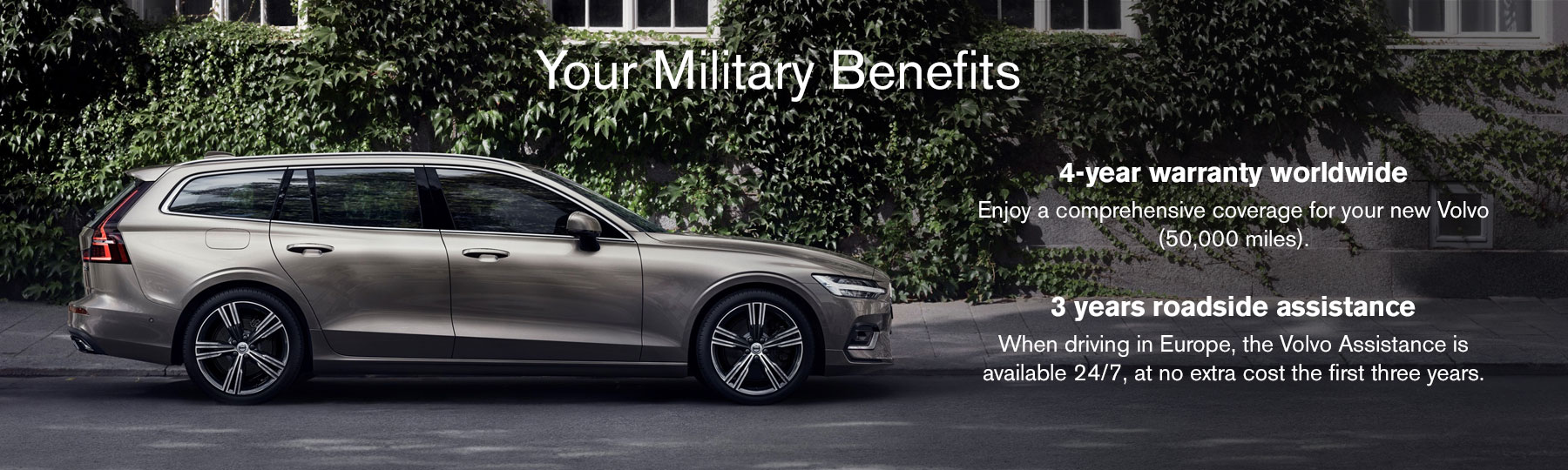 Volvo Military benefits