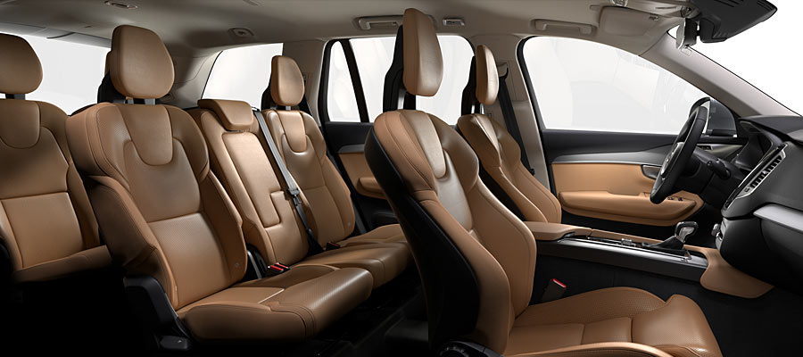 Nappa Leather Perforated Amber in Charcoal interior (RC20)